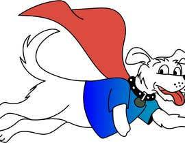 #32 for Hand Drawing (logo) of ZAM the super dog af EvelynSalto