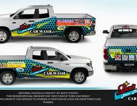 Nro 2 kilpailuun Partial Truck Wrap Design käyttäjältä SAKTI2