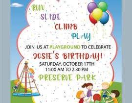 #63 для Create 3 birthday invitations for a birthday party от amnaarshad550