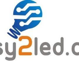 Nro 69 kilpailuun Design a Logo for Easy2LED.com käyttäjältä ilhamsultan