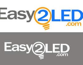#49 cho Design a Logo for Easy2LED.com bởi wilfridosuero
