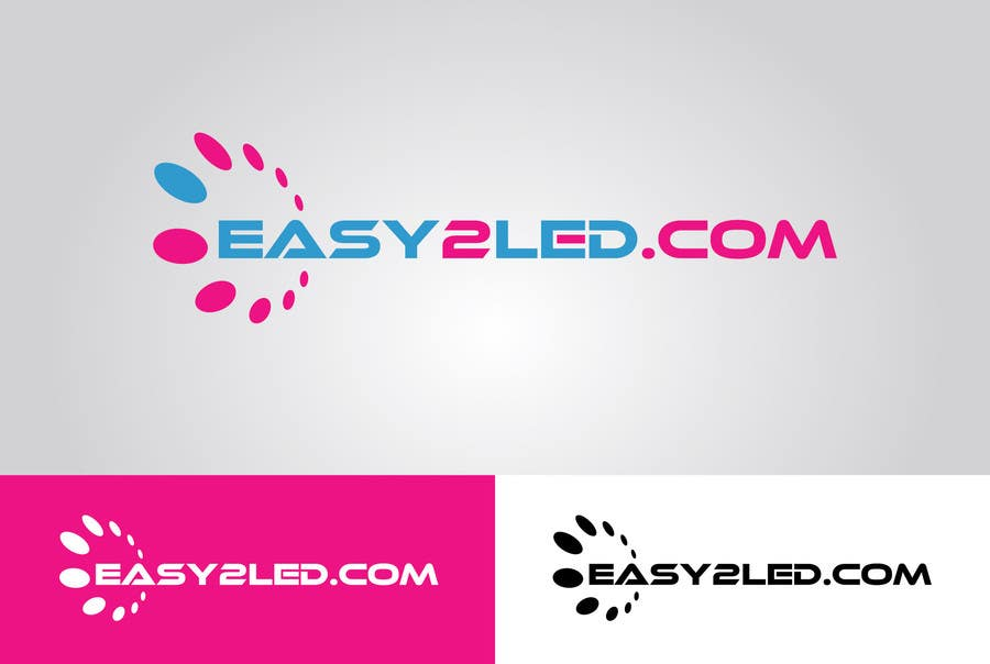 Penyertaan Peraduan #77 untuk Design a Logo for Easy2LED.com