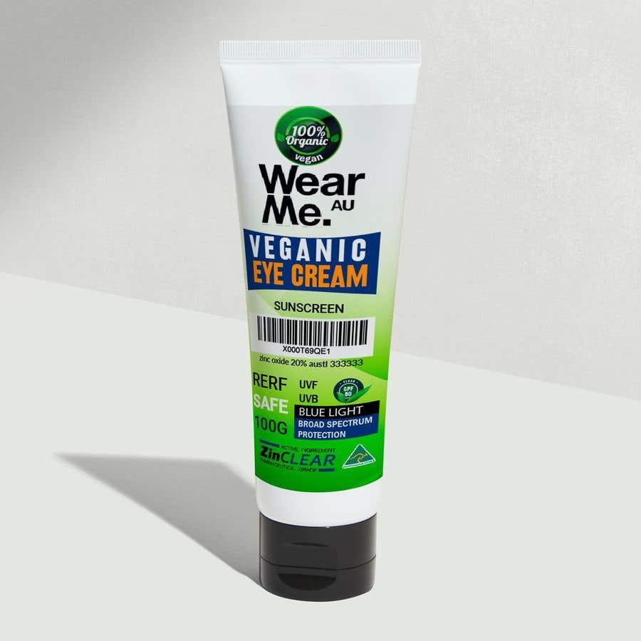 Kilpailutyö #                                        65                                      kilpailussa                                         Design a Sunscreen Tube Packaging!
