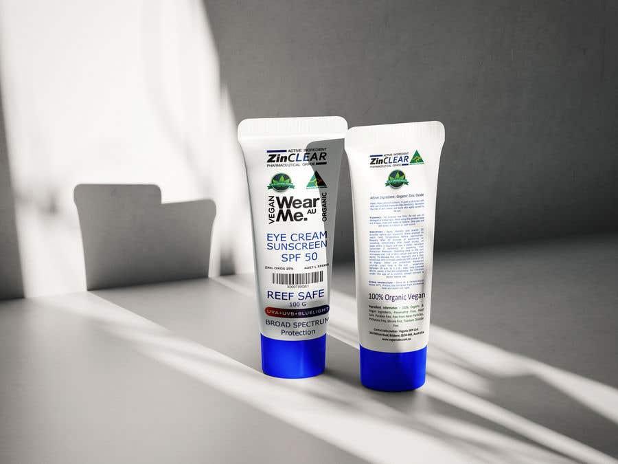 Kilpailutyö #                                        28                                      kilpailussa                                         Design a Sunscreen Tube Packaging!