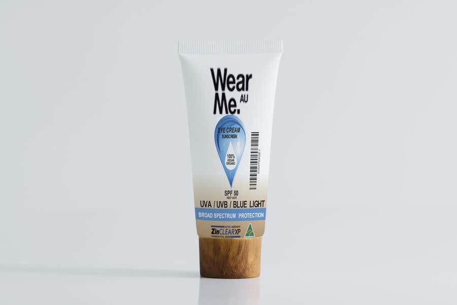 Konkurrenceindlæg #                                        57                                      for                                         Design a Sunscreen Tube Packaging!