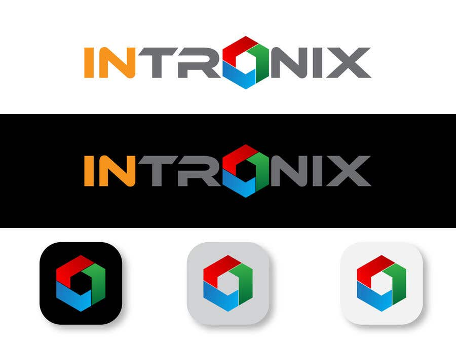 Kilpailutyö #                                        53                                      kilpailussa                                         InTronix corp. Identity