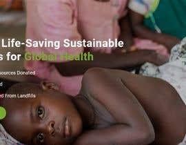 armansheikh2320 tarafından WordPress photo/home page info layout assistance (for global aid organization) için no 7