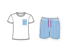 #19 cho Mens swim suit with pocket shirt matching design! bởi tanim957