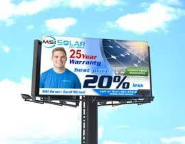 Nro 65 kilpailuun Billboard Ideas Solar käyttäjältä HasanPrint29