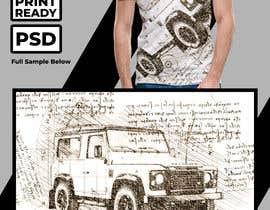 #136 untuk T-Shirt Land Rover Defender 90 design oleh SherryD45