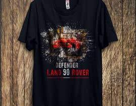 #142 untuk T-Shirt Land Rover Defender 90 design oleh taukirtushar