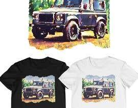 #182 untuk T-Shirt Land Rover Defender 90 design oleh monfaji
