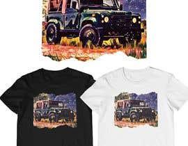 #183 untuk T-Shirt Land Rover Defender 90 design oleh monfaji