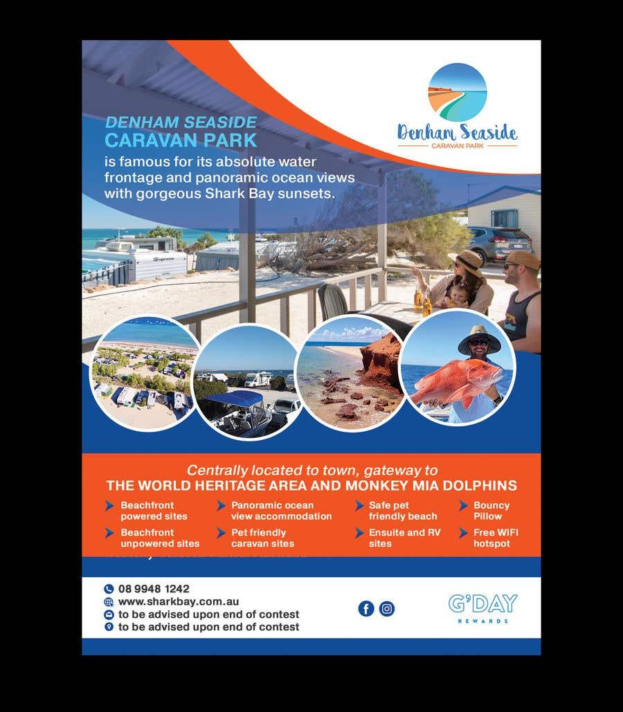 Bài tham dự cuộc thi #                                        42                                      cho                                         Design a Magazine Advertisement for Denham Seaside Caravan Park - 16/06/2021 02:48 EDT