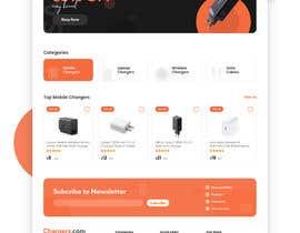 Nro 47 kilpailuun Ecommerce website design mock-up käyttäjältä Azim347