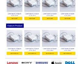 Nro 51 kilpailuun Ecommerce website design mock-up käyttäjältä salimurraji