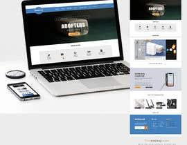 Nro 45 kilpailuun Ecommerce website design mock-up käyttäjältä dali29385