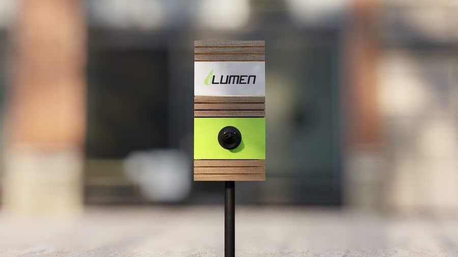 Kilpailutyö #                                        16                                      kilpailussa                                         3D design of charging point for a Electric Vehicule