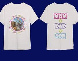 Nro 81 kilpailuun Tshirt design kids party käyttäjältä Morjina