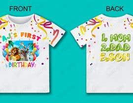 Nro 83 kilpailuun Tshirt design kids party käyttäjältä sgorjainovs