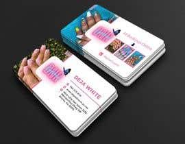 Nro 141 kilpailuun business card design for nails gene käyttäjältä Masud6292