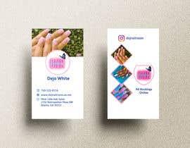 Nro 156 kilpailuun business card design for nails gene käyttäjältä lukman0004
