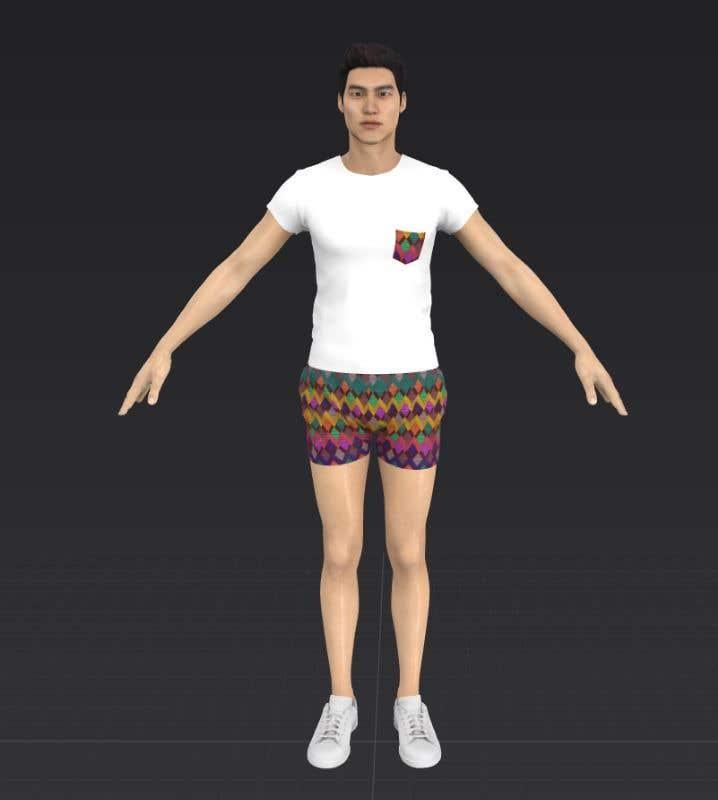 Kilpailutyö #                                        15                                      kilpailussa                                         Men's Swimsuit Design