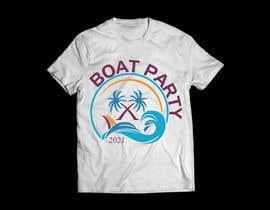 Nro 112 kilpailuun BoatParty X Logo Design käyttäjältä KleanArt