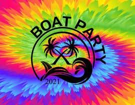 Nro 210 kilpailuun BoatParty X Logo Design käyttäjältä KleanArt