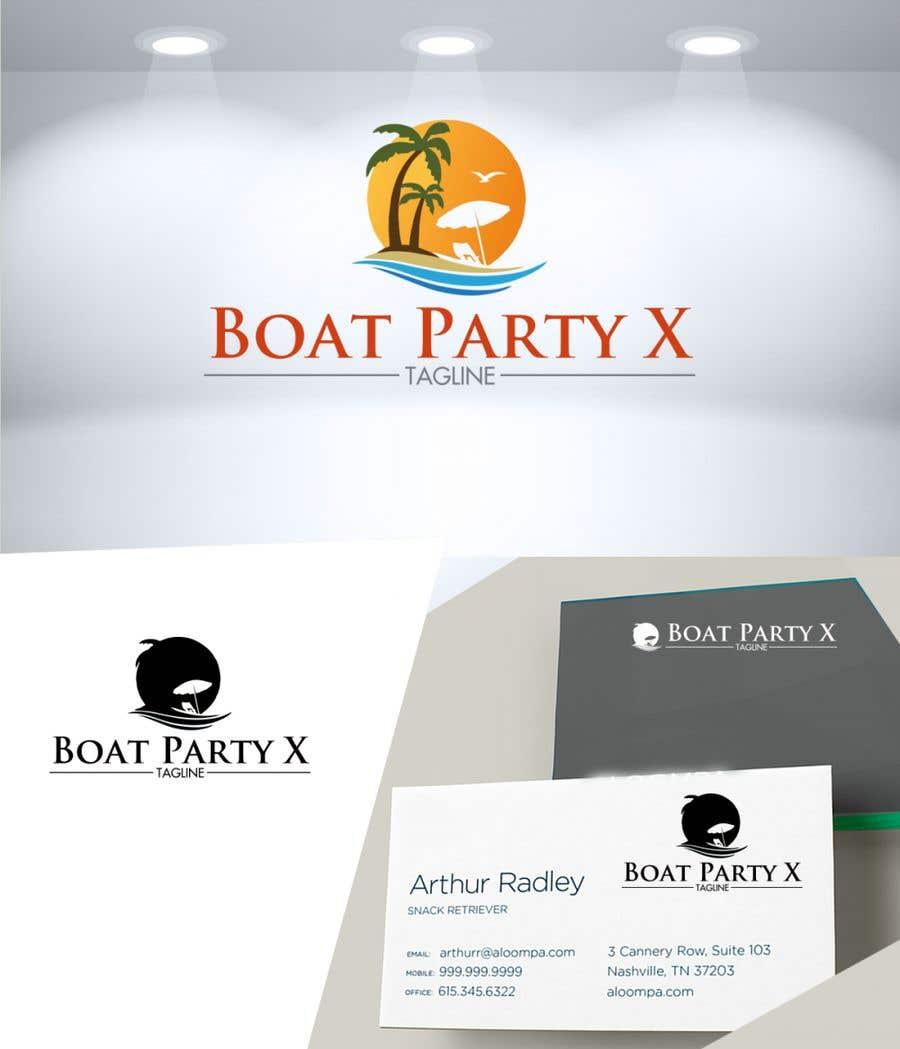 Kilpailutyö #                                        119                                      kilpailussa                                         BoatParty X Logo Design