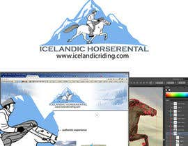 #53 for Design a Logo for Icelandic horserental af lfor