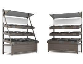 #9 para Stages 3 : Crowdsource / Designing a display rack for fruit and vegetable por FineViz