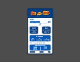 Nro 25 kilpailuun iPhone App Screen Design for GoalPrize Dashboard: UI UX design käyttäjältä MBEST123