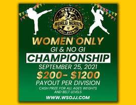 Nro 63 kilpailuun Women's Jiu-Jitsu Event Flyer Virginia and Maryland käyttäjältä FarooqGraphics