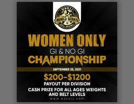 Nro 61 kilpailuun Women's Jiu-Jitsu Event Flyer Virginia and Maryland käyttäjältä printexpertbd