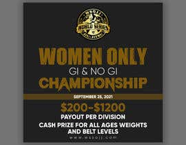 Nro 67 kilpailuun Women's Jiu-Jitsu Event Flyer Virginia and Maryland käyttäjältä printexpertbd