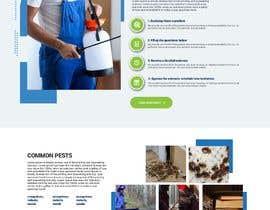 #47 for Landing Page for Pest Control Service (Design Only) af nikil02an