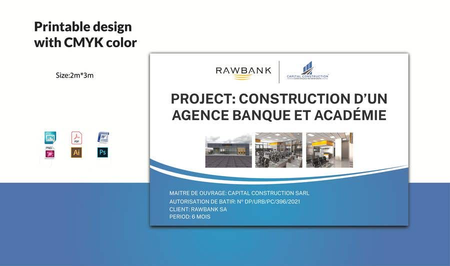 Bài tham dự cuộc thi #                                        29                                      cho                                         Design A Construction Project Billboard