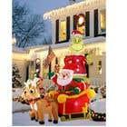 Blow Up Inflatable Outdoor Christmas Santa Claus and the Grinch için Graphic Design23 No.lu Yarışma Girdisi
