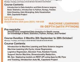Nro 8 kilpailuun Build me one Template for data science course käyttäjältä Atsnagn