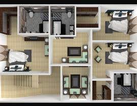 Nro 40 kilpailuun 3D design - floor plan käyttäjältä rumendas