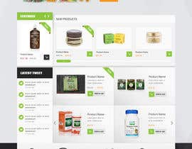 #22 cho Design a Website Mockup for Natural Products E-Commerce Site bởi deep45