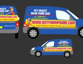 #24 for Design a Banner for our Vans by jk94