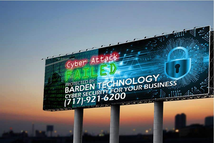 Конкурсная заявка №                                        92                                      для                                         Billboard design for cyber security firm
