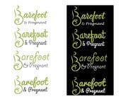 Design a Logo for Barefoot & Pregnant için Graphic Design71 No.lu Yarışma Girdisi