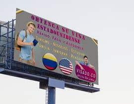 #253 untuk Billboards for USA Travel Visa Business oleh EmperorGeek