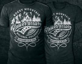 #345 para Design a Event T-Shirt for Dog Club por mstmurshida