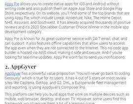 #4 for Low Code / No Code App on iOS & Android af Nir0shan