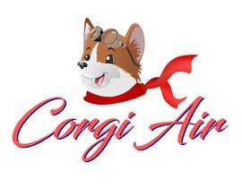 #279 для Need a Line Art Logo for Corgi Air от piyushsharma8118