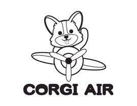 #223 для Need a Line Art Logo for Corgi Air от imtiazimti
